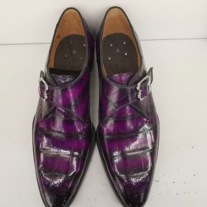 Alligator Dress Shoes Wholesale Monk Shoes Men