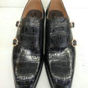 Hand Made Alligator Monks Dress Shoes