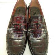 Alligator Slip-on Men Loafers Dress Flats