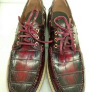 Lace Up Height Increase Loafers Shoes