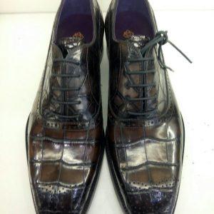 Men Alligator Leather Office Shoes