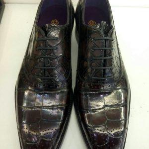 New Alligator Print Men's Business Dress Shoes