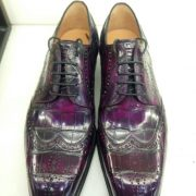 High-end Real Animal Leather Derby Shoes