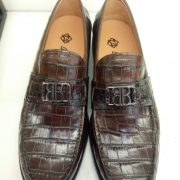 Mens Shoes Alligator Fancy Loafers
