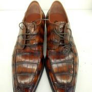 Alligator Footwear Exotic Derby Shoes