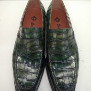 Alligator Embossed Leather Dress Shoes Loafer Style