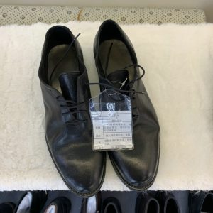 Goodyear Horse Leather Oxford shoes Black