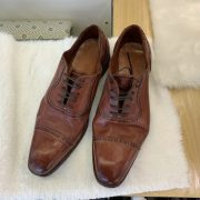 Men Handmade Horse Leather Goodyear-Welted Custom Shoes