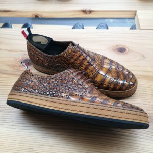 Genuine Alligator Skin Formal Dress Shoes