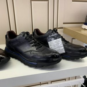 Fashion Casual Ostrich Shoes Black