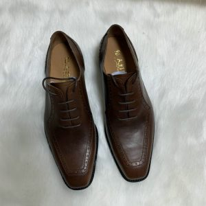 Fashion Goodyear Welted Brogue Oxford Handmade Mens Dress Shoes