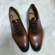 Oxford Style Best Price Men Lace-up Dress Shoes Goodyear Welted