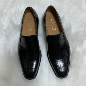 Factory Wholesale High Quality Alligator Loafers