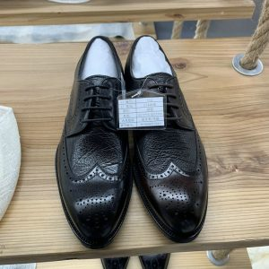 Brogue Style Men Genuine Leather Dress Shoes