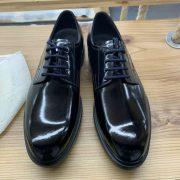 Men Classy Patent Leather Brogue Shoes