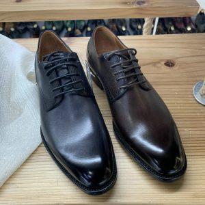 Good Quality Lace Up Genuine Leather Oxford Shoes