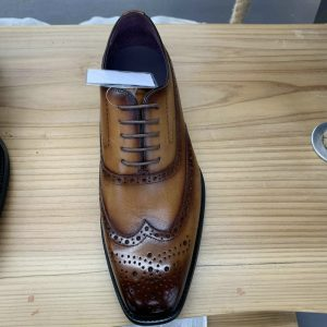 Mens Brogue Leather Shoes High Quality