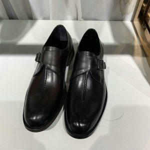 Single Monk Strap Mens Shoes