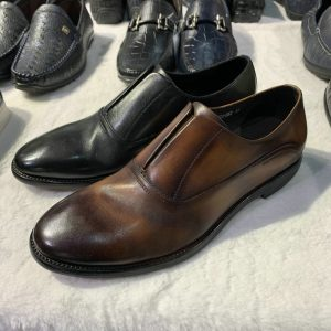 Pure Leather Casual Loafers