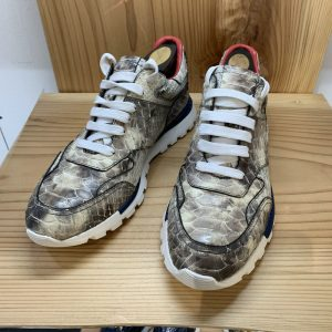Genuine Mens Snakeskin Casual Shoes