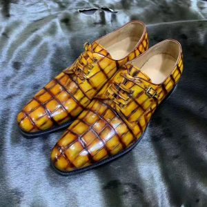 Goodyear Craft High-end Handmade Shoes men's Blucher Shoes