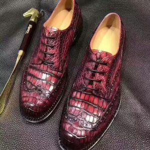Goodyear Shoes Custom Shoes Men Genuine Alligator Leather