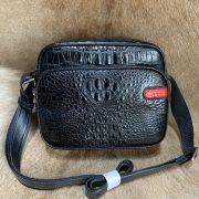 Crocodile Pattern Shoulder Bag