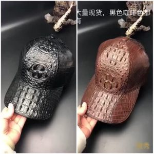 Men Crocodile Hat Rock Cap