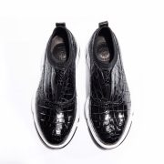 Crocodile Fashion Outdoor Sock Vamp Running Shoes