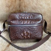 Authentic Crocodile Leisure Business Bag