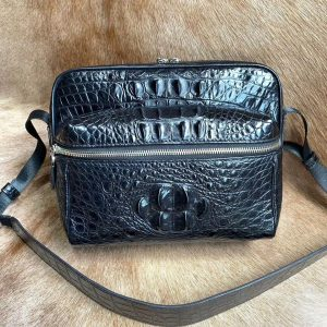 Business Crocodile Bag Men Shoulder Bag