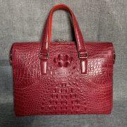 Laptop Handbag CrocodileShoulder Tote Bag