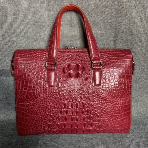 Laptop Handbag CrocodileShoulder Tote Bag