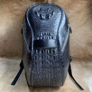 Exclusive Crocodile Leather Backpack