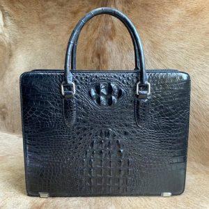 Fashion Briefcase Crocodile Laptop Bag