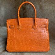 Luxury Genuine Alligator Handbag