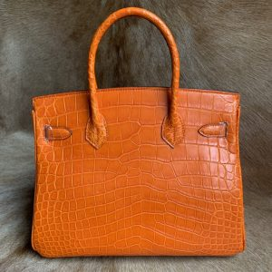 Luxury Genuine Alligator Handbag