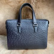 Messenger Ostrich Bags Office Briefcase