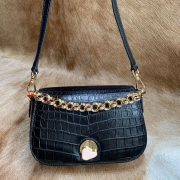 Classic Alligator Leather Hand Bag