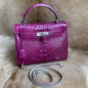 Women Luxury Genuine Crocodile Handbag