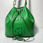 Crocodile Leather City Backpack