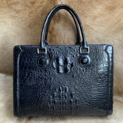 Crocodile Skin Document Bag