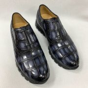 Casual Alligator Leather Oxfords Shoes