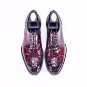 Mens Alligator Lace Up Shoes