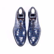 Alligator Skin Classic Oxford Dress Shoes For Men