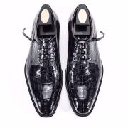 Wholesale Men Business Genuine Alligator Shoes