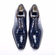 Leisure Fashion Business Alligator Pattern Leather Shoes