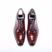 High-grade Alligator Belly Skin Custom Shoes