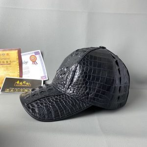 Men's Sport Tennis Crocodile Cap