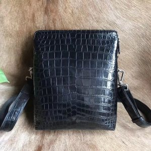 Luxury Men Genuine Alligator Bag